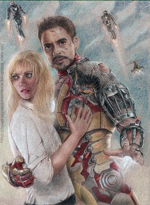 Robert Downey Jr por Jap